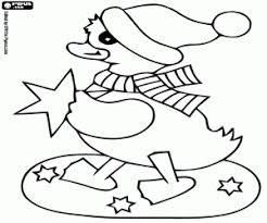 Coloriage Animaux en Noël à imprimer