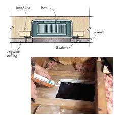 how to replace a bathroom ceiling fan how to replace bathroom fan bathroom exhaust f alluring replace
