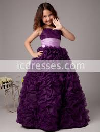 pageant dresses for purple flower girl dresses for weddings pageant dresses