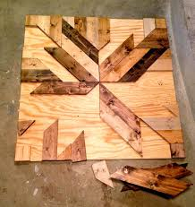 build diy wood planked quilt wall make this wall decor using