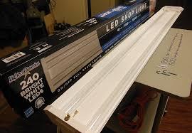led 4 ft lights 4ft led shop light from rockler reviewed home fixated