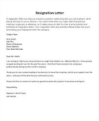 template letters of resignation resignation letter template professional resignation letters