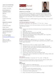 Resume Mechanical Engineer Sample by Electric Engineer Professional Resume Samples Resume Format Of