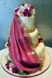 theme wedding cakes sari inspired wedding cake a wedding cake