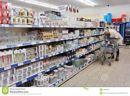 household items in a store editorial photo image 79580081