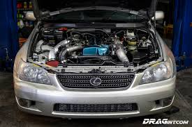 lexus is300 2jzgte vvti twin turbo automatic swap drag international