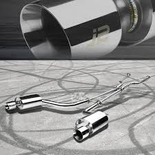 lexus is 250 muffler j2 dual muffler 4 u0026 034 tip catback exhaust system y pipe for 14