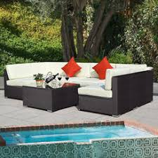 Wicker Sectional Patio Furniture by Patio Conversation Sets Outdoor Seating Sets Sears