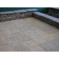Fire Pits Home Depot Nantucket Pavers Patio On A Pallet 10 Ft X 10 Ft Concrete Tan
