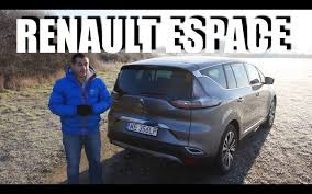 renault espace 2016 renault espace 2016 eng test drive and review youtube