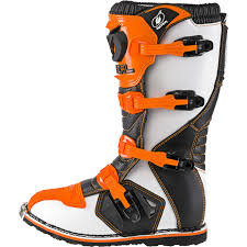orange motocross boots oneal rider eu motocross boots mx off road dirt bike atv racing