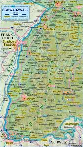 Map Of Germany And Austria by Ettlingen Germany Map Of Black Forest Germany Baden