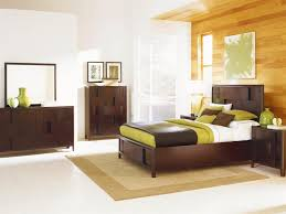Nova Collection B Contemporary Bed Set In A Chestnut Finish By - Magnussen nova bedroom set
