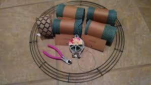 wreath supplies diy burlap wreath tutorial theamazinglifeofasarcasticwife