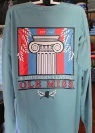 Southern Comfort Apparel Ole Miss Hotty Toddy Bar Island Reef Comfort Color 24 95 Ole