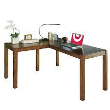 Buy Home Office Desk Lobink L Desk Brown Signature Design By Target