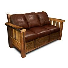 Rustic Wooden Couch Rustic Barnwood Sofa