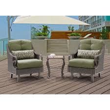 Ventura Patio Furniture by Ventura 3 Piece Chat Set In Vintage Meadow Ventura3pc Mdw