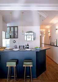 bar cuisine americaine cuisine ouverte avec bar idées décoration intérieure