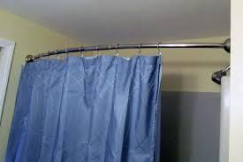 shower curtain tension rod keeps falling u2014 new decoration easy