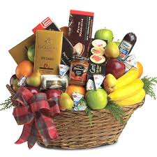 fruit delivery chicago ultimate christmas gift basket t1353 florist delivery in