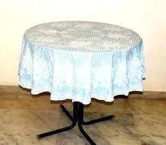 60 inch round elastic table covers round vinyl table covers get quotations a fitted elastic edge round