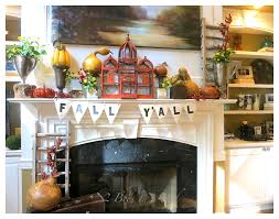 Home Decor Bloggers by Fall Mantel Decor Week 3 2 Bees In A Pod