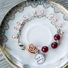 rosary bracelet hail rosary bracelet pink salt riot