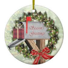 mailbox ornaments keepsake ornaments zazzle