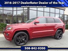 granite crystal metallic jeep grand cherokee 2015 jeep grand cherokee altitude 4wd for sale in boston ma