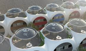dice houses become a symbol of eco architecture in uk designed by