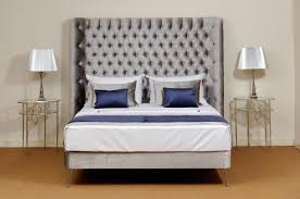 beautiful upholstered headboards a fine traditional winged bespoke bed using a classic french style