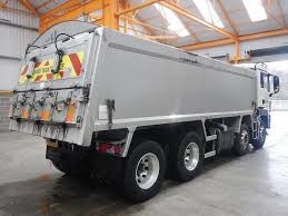 man tga 32 400 8 x 4 aluminium insulated tipper 2009 walker