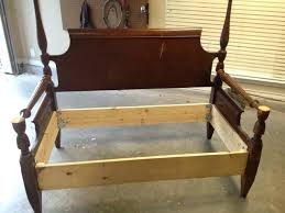 old bed frame furniture made from old doors doors architectural