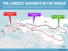 Germany Rail Map by The Longest Railway In The World Business Insider