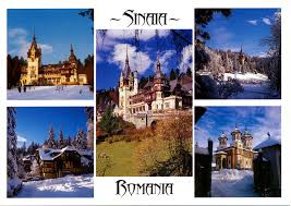 photo postcards postcards sinai romania leave me here