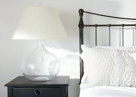 table lamps clear glass table lamp australia clear glass table
