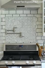 Grouting Kitchen Backsplash White Subway Tile Kitchen Backsplash Grout Color Subway Tile