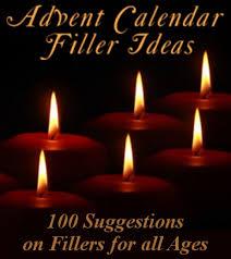 100 advent calendar gift ideas fillers for men women and kids