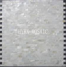 2017 11 square feet white square shell mosaic tile groutless