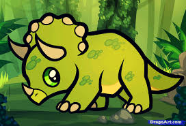 learn how to draw a triceratops for kids dinosaurs for kids for