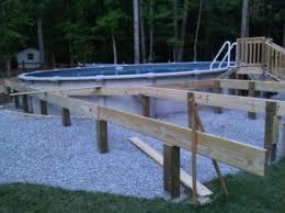 deck for 30 ft diameter pool