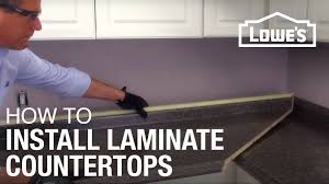 what is the best countertop to put in a kitchen how to install laminate countertops