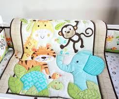 Team Safari Crib Bedding Furniture Jungle Baby Bedding Set Design Themed Crib
