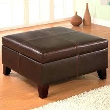 black leather square ottoman storage ottoman square black leather square ottoman s square black