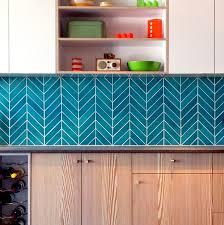 ceramic chevron subway tile blue teal agate modwalls designer