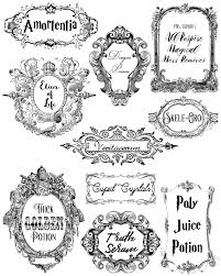 Free Printable Halloween Potion Labels by Doodlecraft Potions And Poisons