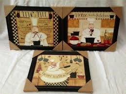 bistro fat chef wall decor photo for the kitchen decorations