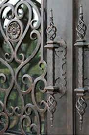 ornamental wrought iron door handle melbourne wrought iron