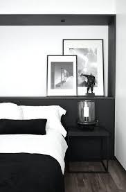 deco de chambre noir et blanc chambre et blanche photos galerie avec deco chambre noir et